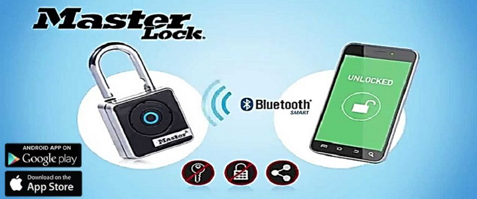 Master Lock Bluetooth Banner