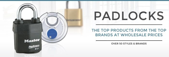 Padlocks Department Banner