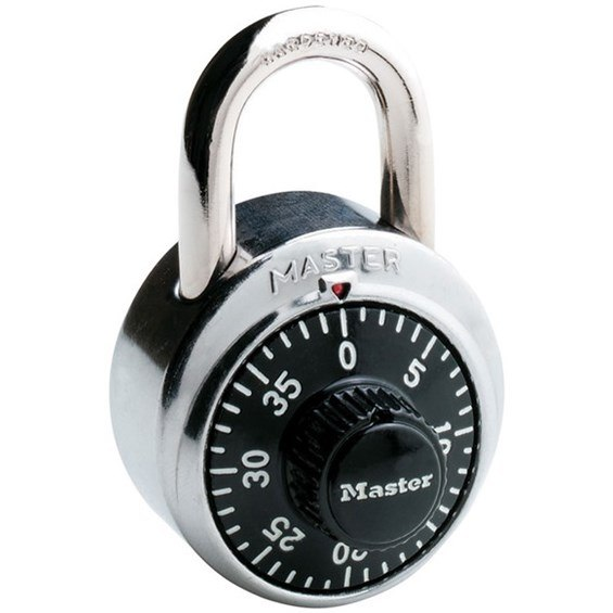 1502 master padlock with combo charts