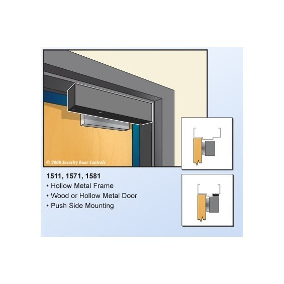 Sdc Security Door Controls 1571v 1571vd 1571d 1571vdb