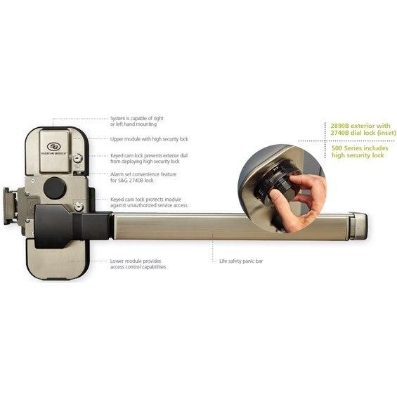 S Amp G 2890 542 Type Iv Sfic Lock W 2740b Taylor Security