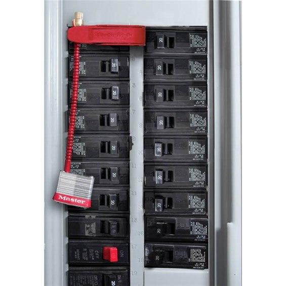 Master Lock No 7c5red Circuit Breaker Switch Padlock