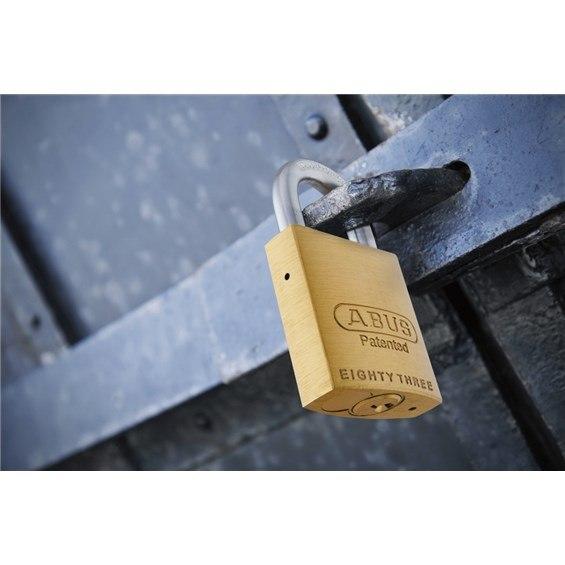 83 45 300 83638 Abus Quot Sc1 Quot Solid Brass Rekeyable Padlock