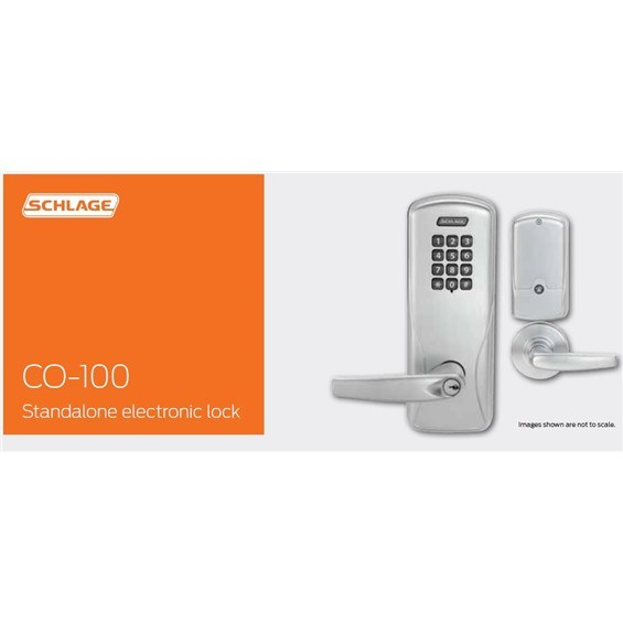 Schlage Commercial Co 100 Cy 70 Kp Rho 626