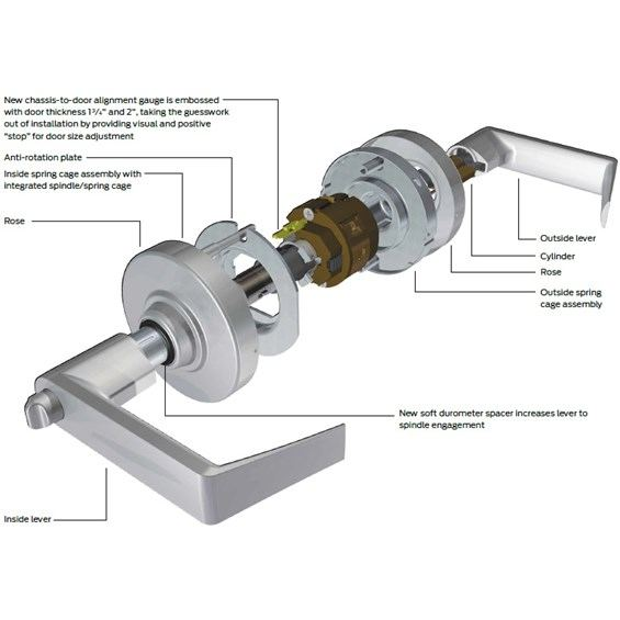 Schlage Commercial Nd10s Rho Nd10s Rho Nd10srho Nd40s Rho