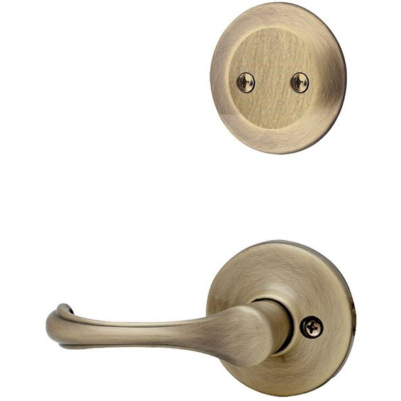 kwikset-606-interior-trim-pack-dorian-lever-antique-brass-606dnl5-4