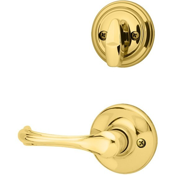 kwikset-966-interior-trim-pack-dorian-lever-polished-brass-966dnl3-4