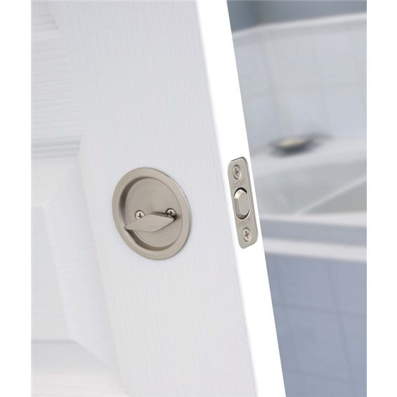 Kwikset 335 3 335 5 335 10b 335 15 335 15a 335 26d 335 32 Privacy Round Pocket Door Lock