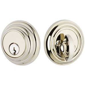 Emtek 8455 8355 Brass Low Profile Deadbolt Taylor