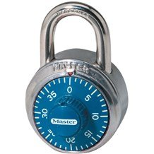 1506 Colored Dial Combination Padlock