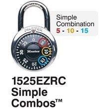 1525EZRC Padlock (Simple Combos)