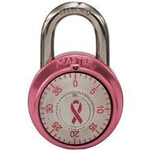 1530DPNK Breast Cancer Awareness Padlock