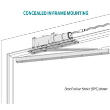 LCN 2210 Series High Security Overhead Concealed Door Closer