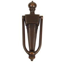 Narrow Style Solid Brass Door Knocker