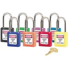 Master 410 Thermoplastic Safety Padlock