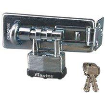 Master Lock 450 Hasp & Lock Combo