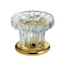 4909/30 Glass Mushroom Cabinet Knob (1-3/16