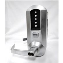 5031 Simplex Extra Heavy Duty Pushbutton Lock w/ Key Override & Combination Change