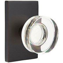 Emtek Knobs: The Modern Disc Crystal