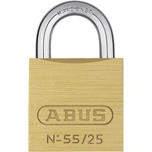 Abus 55/25 Economical Solid Brass Padlock