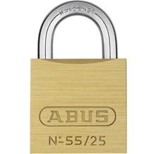 Abus 55/25KA-5253 Economical Solid Brass Padlock