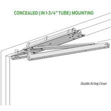 LCN 6030 Series Pacer® Double Acting Overhead Concealed Door Closer