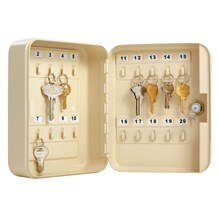 7131 20-Count Locking Key Cabinet