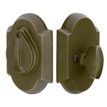 Emtek Deadbolts: #1 Style Plate with Flap Deadbolt