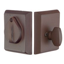 Emtek Deadbolts: #3 Style Plate with Flap Deadbolt