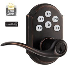 Kwikset 912-ZW Electronic Keyless Keypad Door Leverset with Z-Wave Technology