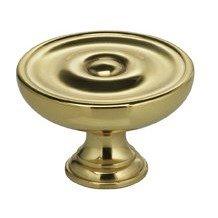 9136/30 Mushroom Cabinet Knob (1-3/16
