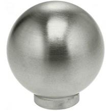 9180/25 Stainless Steel Round Cabinet Knob (1