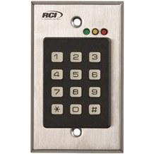 RCI 9212 Stand-Alone Flush Mount Keypad