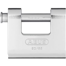 Abus 92/65 Solid Brass with Steel Jacket Monoblock
