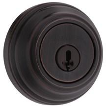 Kwikset 980-11P-SMT Venetian Bronze Single Cylinder Deadbolt with SmartKey (980 Series)