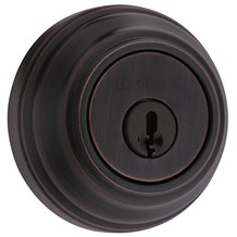Kwikset 985-11P-SMT Venetian Bronze Double Cylinder Deadbolt with SmartKey (980 Series)