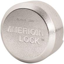 A2000 American Rekeyable 6-Pin Tumbler Hidden Shackle Padlock (Discontinued)