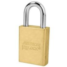 American No. A3600 Solid Brass Rekeyable Padlock