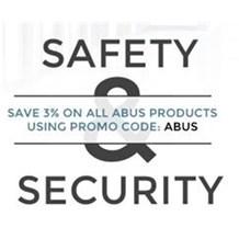 PROMO CODE: ABUS - Save 3%!