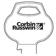 Original Russwin: 59B2-7PIN-11 Keyblank (50-Pack)