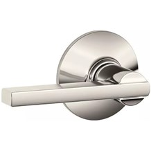 Schlage F10-LAT Latitude Passage Door Lever Set from the F-Series