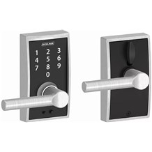 Schlage FE695-CEN-BRW Century Touch Entry Door Lever Set with Broadway Lever