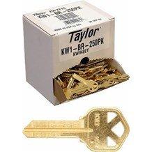 Generic Kwikset: KW1-BR Keyblank (250-Pack)