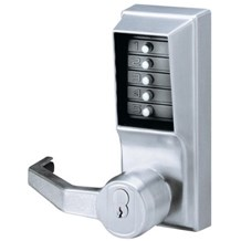 L1000 Simplex Pushbutton Lock with Lever