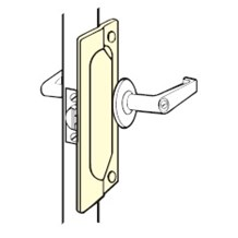 LP-207 Latch Protector for Outswing Doors