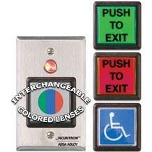 Securitron (PB2) Large Square Push Buttons