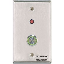 Securitron (PB4L) Vandal-Resistant Stainless Push Buttons