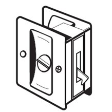PDL-101 Privacy Pocket Door Lock by Don-Jo