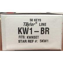 Generic Kwikset: KW1-BR Keyblank (50-Pack)
