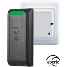 R100-1H Wireless Reader and Aperio Hub by Securitron